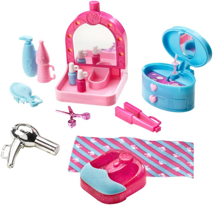 Barbie Spa Day and Doll Gift Set