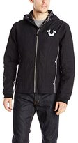 True Religion Men's Reflective Moto Jacket