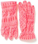 Old Navy Patterned Performance Fleece Gloves for Girls