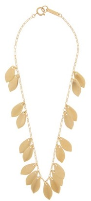 Isabel Marant Shaker Leaf-charm Necklace - Gold