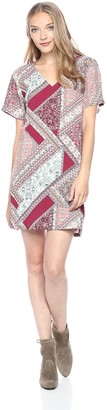 MinkPink Women's Florence Printed Tee Dress