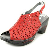 Jambu Women's Monica Peep Toe Wedge Heels.