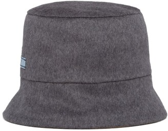 Prada Cashmere Reversible Bucket Hat