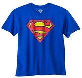 Superman Boys' Logo Graphic Tee