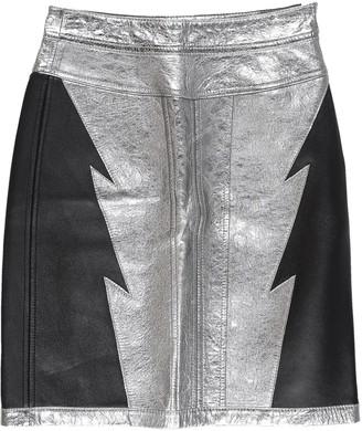 Diesel Black Gold Knee length skirts