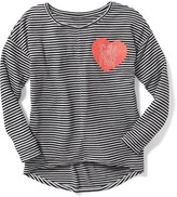 Old Navy Relaxed Graphic Sweater-Knit Top for Girls
