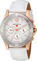 Swiss Legend Women's 16016SM-RG-02-SB-WHT Paradiso Analog Display Swiss Quartz White Watch