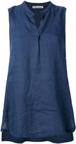 Stefano Mortari long top - women - Linen/Flax - 40