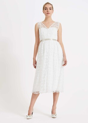 Phase Eight Amalia Embroidered Wedding Dress