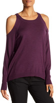 Ramy Brook Tasha Cold Shoulder Wool Sweater