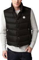 Moncler Tib Puffer Vest, Black