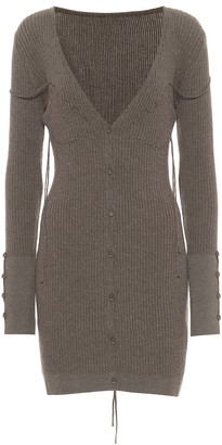 Jacquemus La Robe Maille Lauris wool minidress