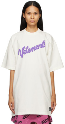 Vetements Off-White Sweet Logo T-Shirt
