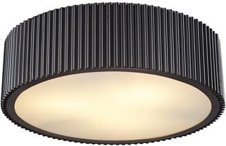 Artistic Home & Lightingminimalist Brendon 3-Light Flushmount