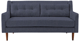 west elm Crosby 2 Seater Sofa, Aegean Blue