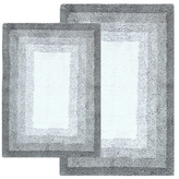 Whitney Ombre Cotton Bath Rugs (Set of 2)
