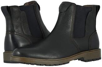 Dockers Sanders (Black Soft Tumbled Full Grain) Men's Shoes