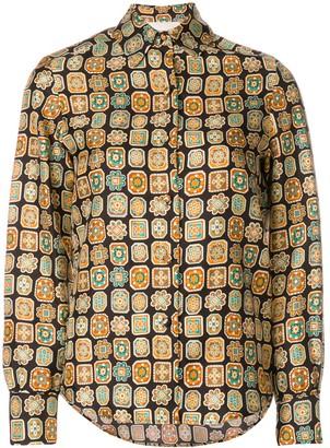 La DoubleJ Piastrelle boy shirt