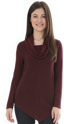 Iz Byer Juniors' Cowl Neck Top