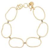 5 Octobre Jane Large silver gilt and diamond bracelet