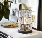 Pottery Barn Adeline Crystal Ambient Accent Lamp