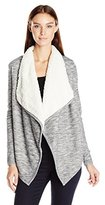 Vero Moda Women's Ilsa Faux Fur Mix Cardigan