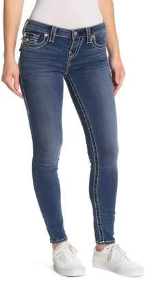 True Religion Halle Embroidered Skinny Jeans