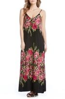 Karen Kane Women's Floral Embroidered Maxi Dress