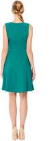 Prabal Gurung Fitted Wool-Crepe Flare Skirt Dress