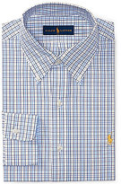 Polo Ralph Lauren Fitted Standard-Fit Button-Down-Collar Checked Dress Shirt