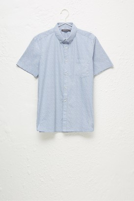 French Connection Floral Short-Sleeved Shirt