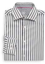 Bugatchi Striped Cotton Shirt