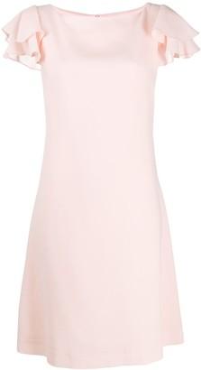 Goat Kaia flutter-sleeve dress