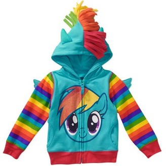 My Little Pony Toddler Girls Costume Zip Hoodie
