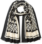 By Malene Birger Printed Wool Scarf