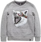 Animal Boys Echo Wolf Print Crew Sweat