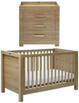 Silver Cross Portobello Cot Bed & Dresser