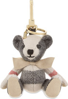 Burberry Thomas Bear check cashmere keyring