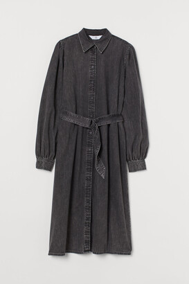 H&M Denim Shirt Dress