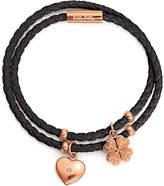 Folli Follie Heart4Heart rose gold-plated bracelet