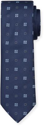 HUGO BOSS Men's Geo-Print Tie