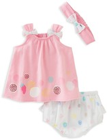 Absorba Girls' Dress, Bloomers & Headband Set - Baby