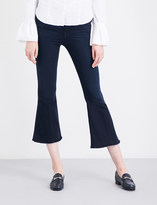 Frame Le Crop Bell flared cropped high-rise jeans