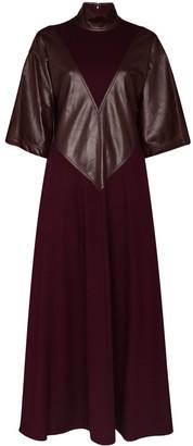 Roksanda Erdea panelled wool dress