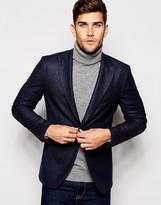 Sisley Tweed Suit Jacket in Slim Fit