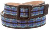Proenza Schouler Multicolor Embroidered Belt