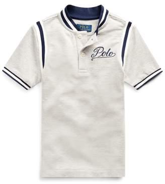 Ralph Lauren Cotton Mesh Graphic Shirt
