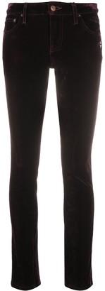 Marc Jacobs Velvet-Effect Skinny Jeans