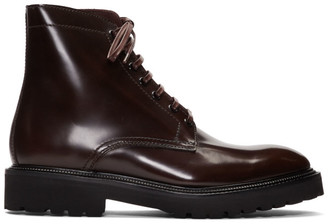 Paul Smith Burgundy Farley Boots