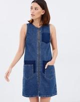 Warehouse Shadow Pocket Dress